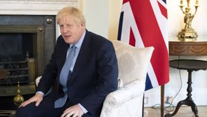 British Prime Minister Boris Johnson. Photo / AP