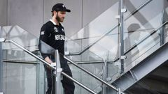 New Zealand's captain Kane Williamson is at risk of being banned from bowling. (Photo / AP)