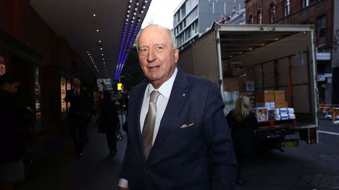 Alan Jones said he was now the victim of a vicious social media campaign. (Photo / Getty)