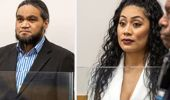 Stevie Cullen and Selaima Fakaosilea were sentenced today. (Photo / NZ Herald)