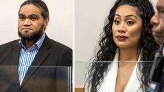 Stevie Cullen and Selaima Fakaosilea were sentenced today. (Photo / NZ Herald)