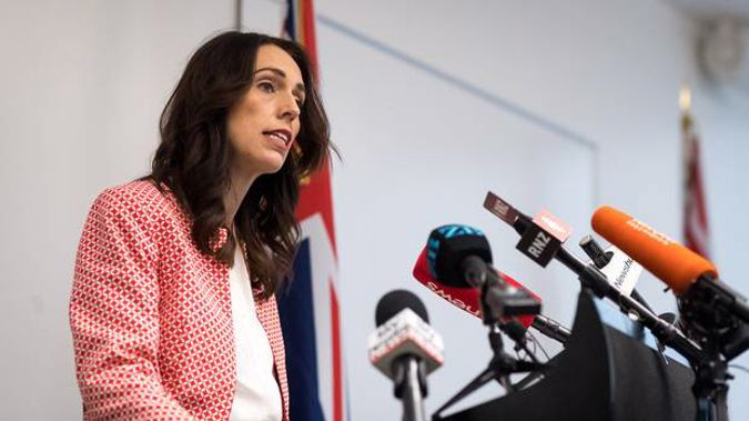 "Speaking to media this afternoon, Ardern said she was ""of course"" disappointed that there is still a gap. Photo / Mark Tantrum"