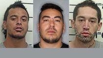 Trio escape custody, on the run in Levin