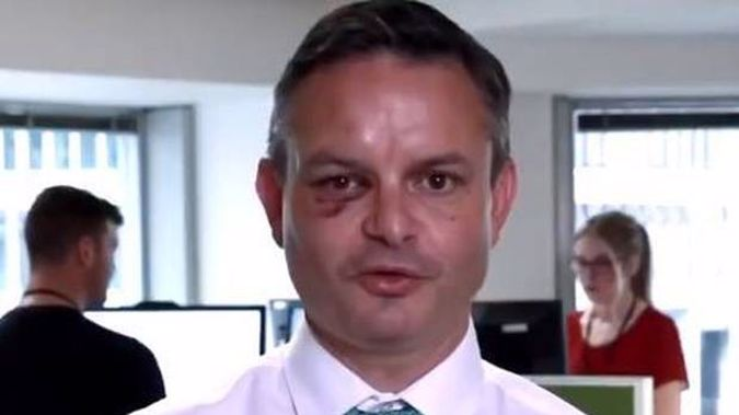 James Shaw was punched while walking to Parliament. (Photo / File)