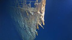 Researchers placed scientific experiments near the wreck to conduct research.