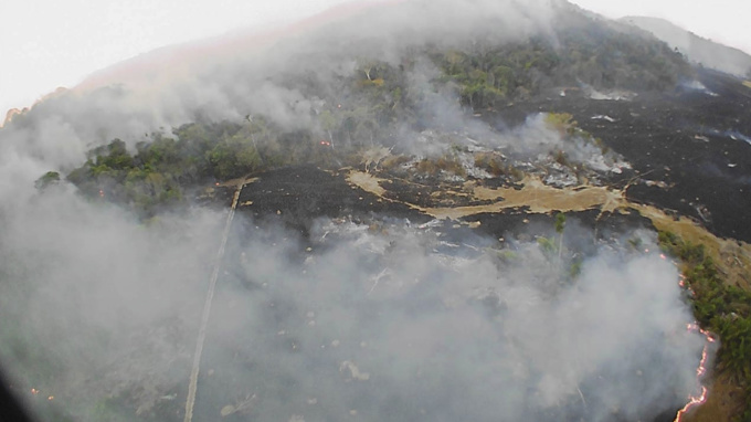 Global worry over Amazon fires escalates