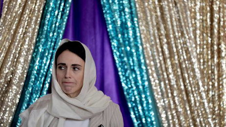 Jacinda Ardern dons hijab as she fronts Islamic Women's Council national conference