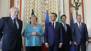 Tariffs, Brexit and Amazon high on the agenda at tense G7 summit