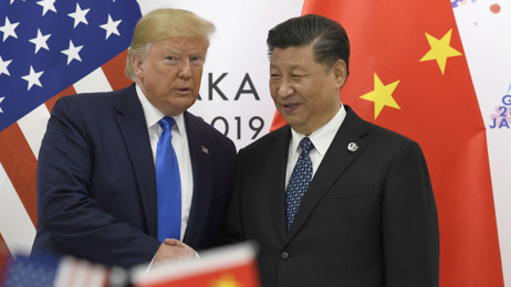 Rebecca Wright: Donald Trump sends mixed messages on trade war