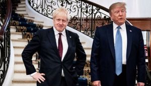 Donald Trump and Boris Johnson have their supporters regardless what the world makes of them. (Photo / AP)