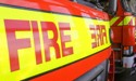 Canterbury fire crews battling house fire