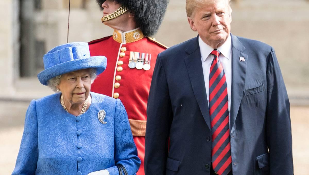 Queen Elizabeth Reportedly Said Donald Trump