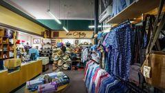 Inside menswear retailer Leo O'Malley, located on Karangahape Rd. Photo / Google Images