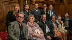 Sir John Kirwan  helped MPs and mental health campaigners launch yet another group. (Photo / Mark Mitchell)