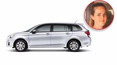 Auckland woman Jana McMiken is appealing to the public for sightings of her stolen white 2012 Toyota Corolla which has the licence plate GLS745. (Photos / Supplied)