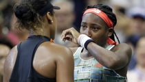 Naomi Osaka consoles teary teen opponent after beating her at US Open