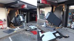 An ATM machine has been ripped out of a wall and stolen from the Darfield post shop in Canterbury in the early hours of Sunday morning. (Photo / Facebook)