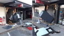 Police investigating link between wildfire and ATM burglary