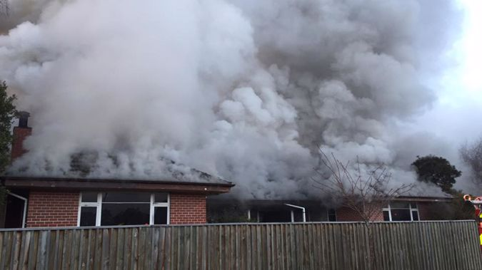 Family escape from Harewood house fire