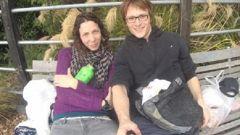 Pavlina Pizova and Ondrej Petr (Photo / Supplied)