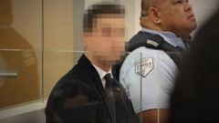 The 21-year-old man is on trial in the Auckland District Court this week. (Photo / Sam Hurley)