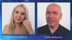 Stephan Molyneux and Lauren Southern's speaking engagement last year was cancelled after Council refused the use of their venues. (Photo / File)