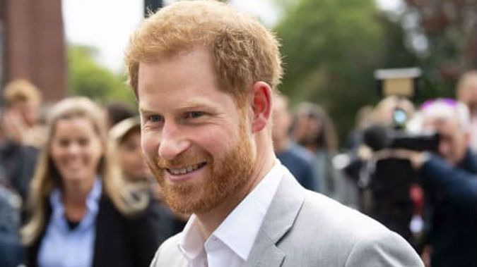 Prince Harry says he flies commercial 99% of the time. (Photo / Getty)