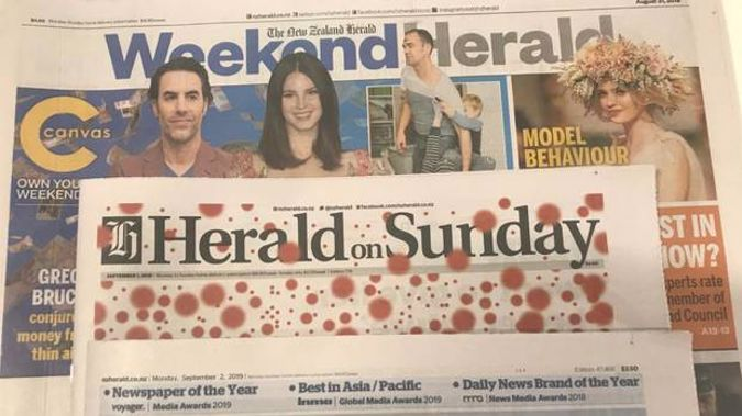 The Weekend Herald remains the powerhouse weekend title, with 530,000 readers, while the Herald on Sunday is read by 317,000 readers.