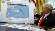 Donald Trump releases potentially doctored map of Hurricane Dorian's path