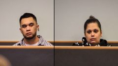 Kerry Te Amo and Ashley Winter are accused of murdering Dimetrius Pairama. Photos / Sam Hurley