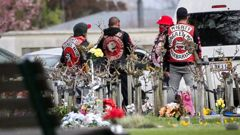 Hastings Council is considering a ban on gang patches in cemeteries. Photo / File
