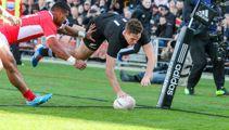 All Blacks run riot in Tongan thrashing