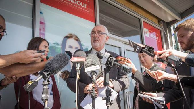 Prime Minister Jacinda Ardern says that Labour Party presdient Nigel Haworth will resign if a review finds that he mishandled complaints. (Photo / Greg Bowker)