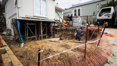 Extensive home renovation in Auckland shut down by authorities for no consent