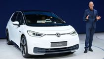 VW reveals first electric car