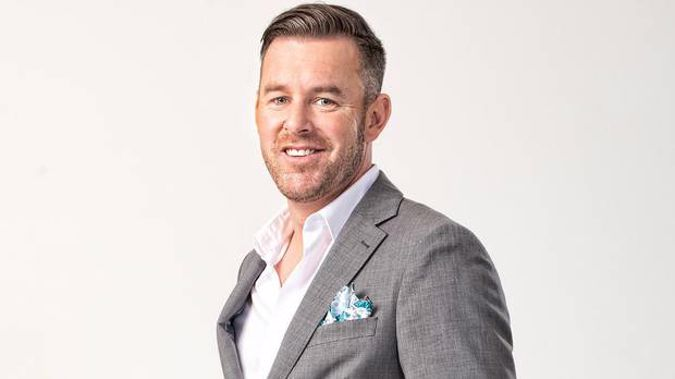 Chris Mansfield in a Married At First Sight promotional photograph. Photo / MediaWorks