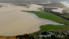 Torrential rain in Coromandel leads to flooding and slips