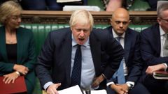 Johnson says the country must leave the EU at the end of October.