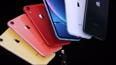 The iPhone 11 comes in various colours. (Photo / AP)