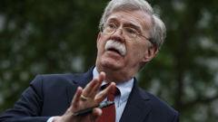 Former U.S. national security adviser John Bolton. (Photo / AP)