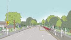 Councillor Mike Davidson talks Templeton to Christchurch cycle-way