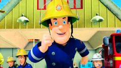 The popular children's television character Fireman Sam has been axed from a fire department's promotional material for not being inclusive.