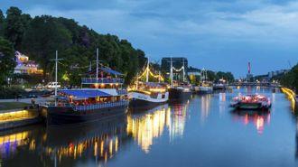 Mike Yardley travels to Turku, Finland
