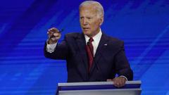 Joe Biden shrugs off age concerns during Democratic debate