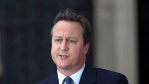 Britain's former Prime Minister David Cameron has spoken out three years after his resignation. (Photo / Getty)