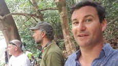 Clarke Gayford captures terrifying moment wild tiger interrupts Malaysian fishing trip