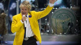 Sir Rod Stewart reveals secret cancer battle