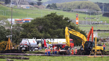 Justin Tighe-Umbers: Auckland jet fuel crisis: Digger blow ruptured pipe