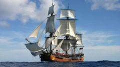 The replica Endeavour. Photo / File