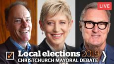 Mike Yardley reviews Newstalk ZB's Christchurch mayoral debate